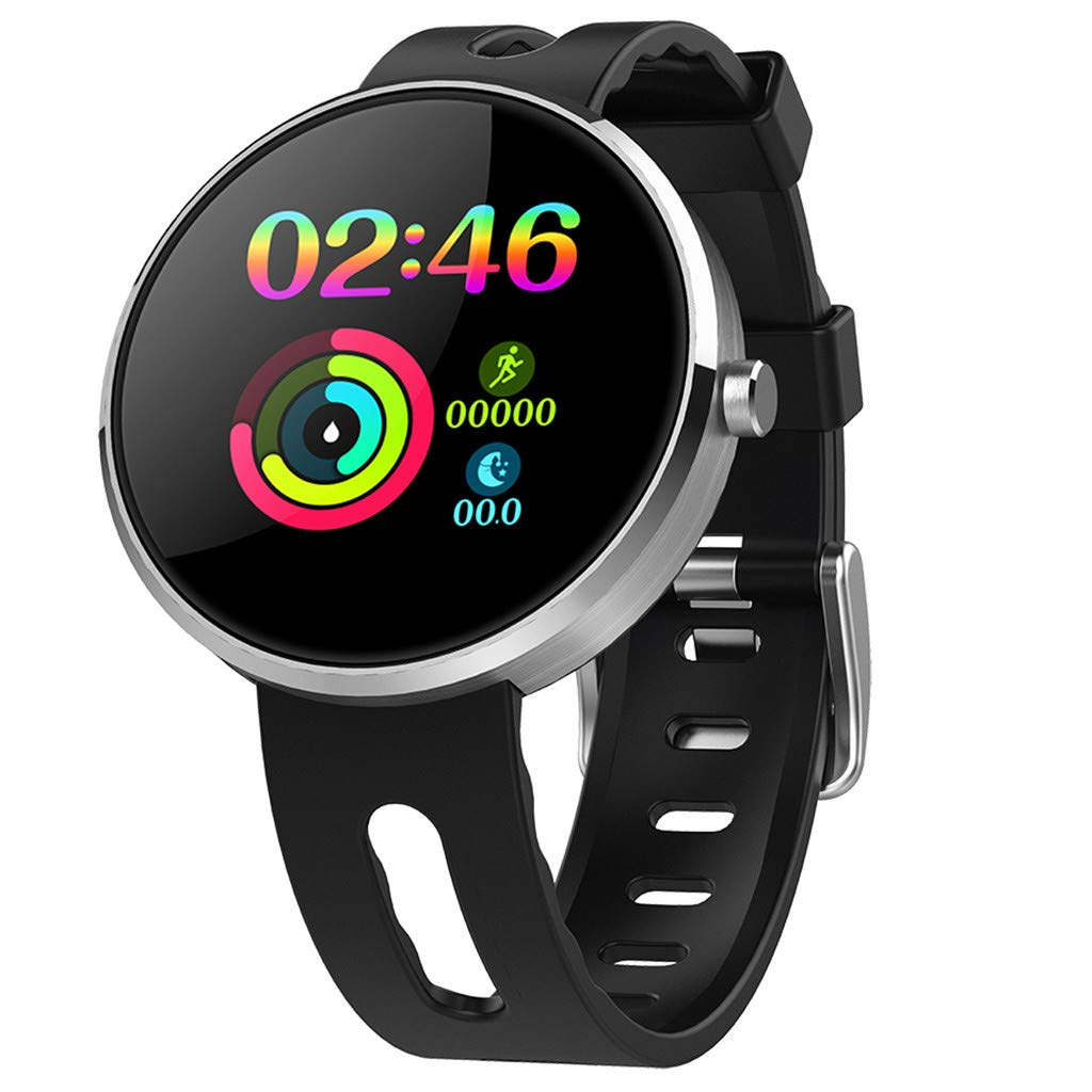 YNAA for Android iOS, Sport Smart Watch, Fitness Calorie Heart Rate Monitoring Physiological Cycle Reminder Smart Bracelet (A) by YNAA (Image #1)
