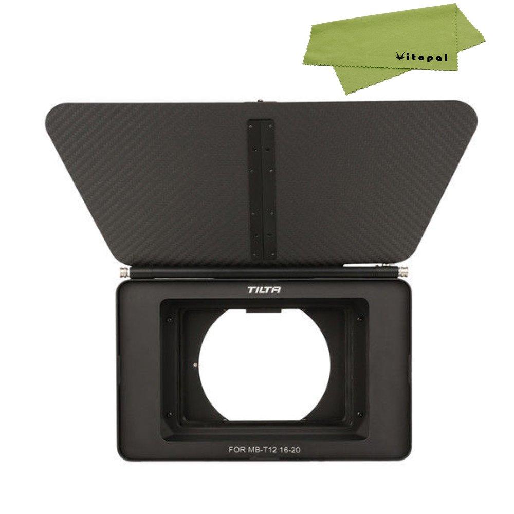 TILTA MB-T12 Light-Weight 4x5.65 Carbon Fiber Matte Box (CLAMP-ON) For FS7 A7S A7S-II BMCC by Vitopal