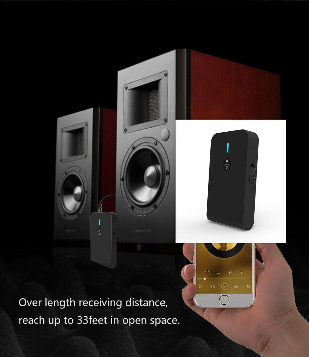 Transmisor Bluetooth,Adaptador Bluetooth,Emisor Bluetooth Inalambricos de Audio de para TV , PC, MP3.: Amazon.es: Electrónica