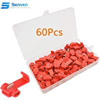 Senven® 60Pcs Scotch Lock Empalme Rápido, Conector Cable