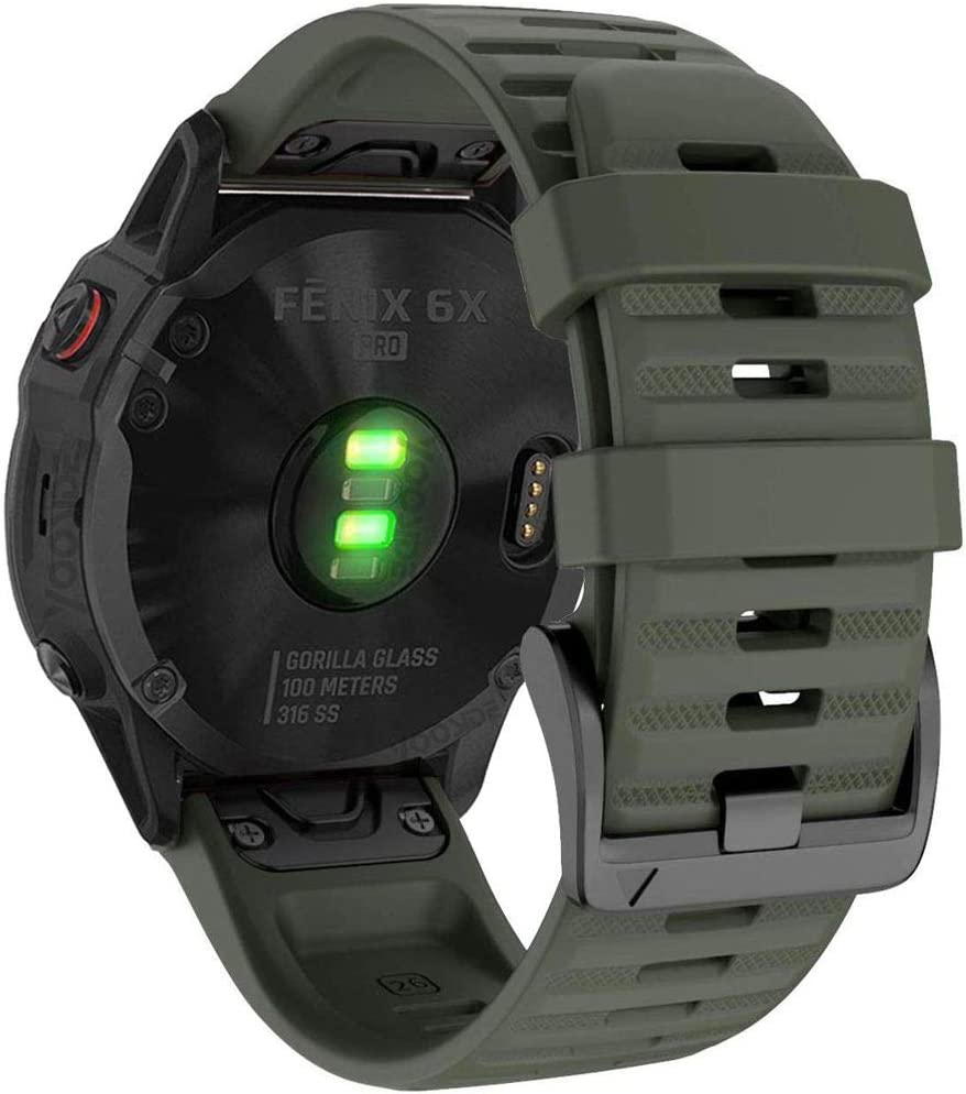 Malla Verde Garmin Fenix 6x Pro/sapphire 26mm