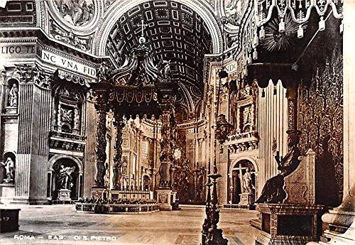 (Di S Pietro Roma Italy Postcard)