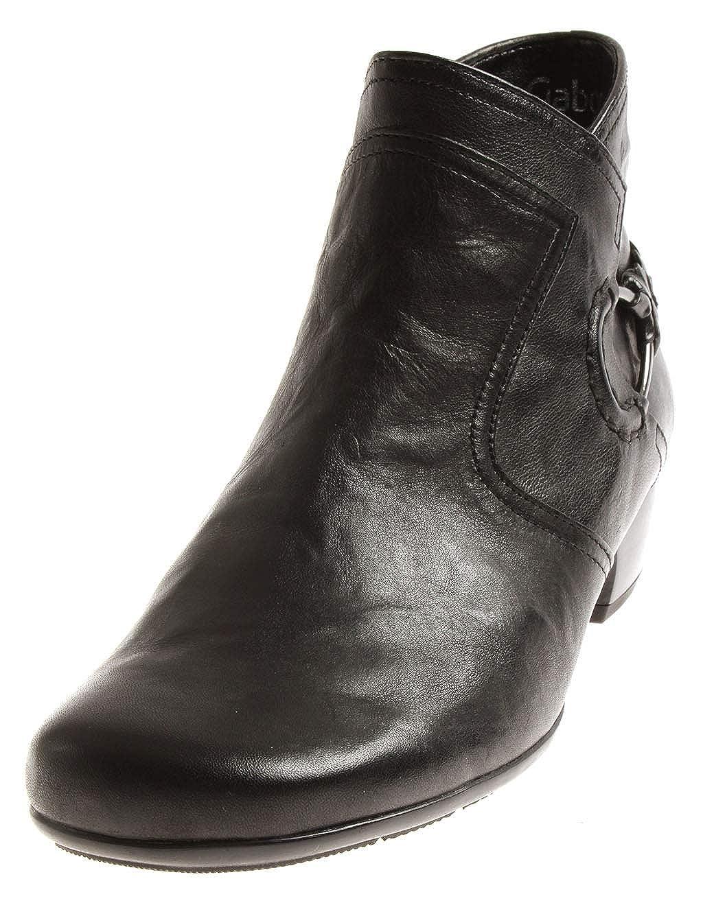 Gabor 96.644 Damen Schuhe Stiefelelette Lederschuhe Lederstiefelette Business