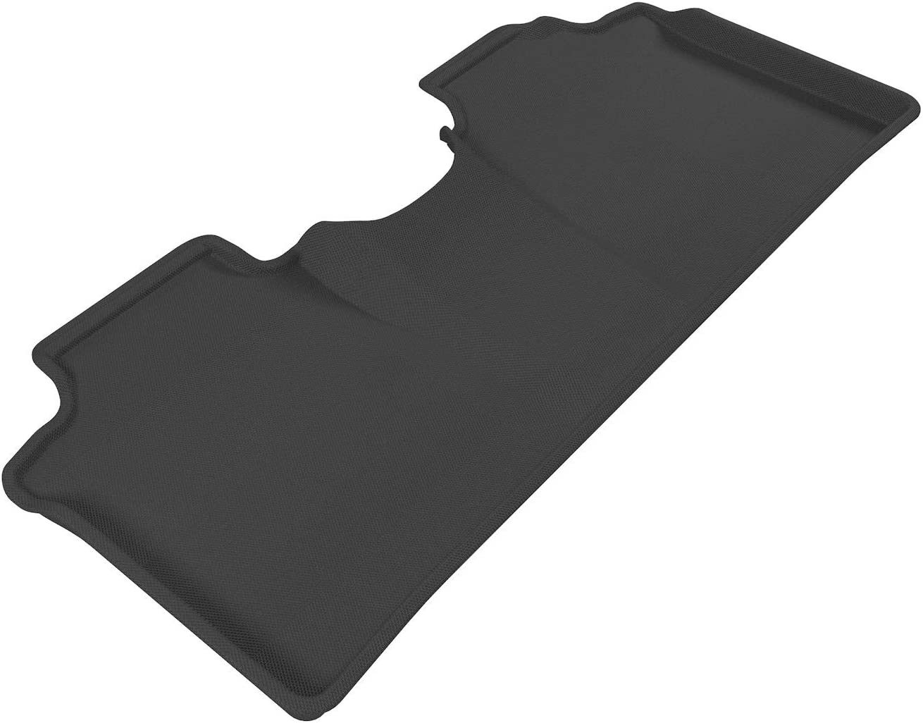 3D MAXpider Second Row Custom Fit All-Weather Floor Mat for Select Dodge RAM 1500 Models Kagu Rubber Black