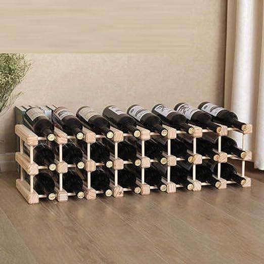 Ducomi Botellero Vino Modular, Modular para 6 Botellas ...