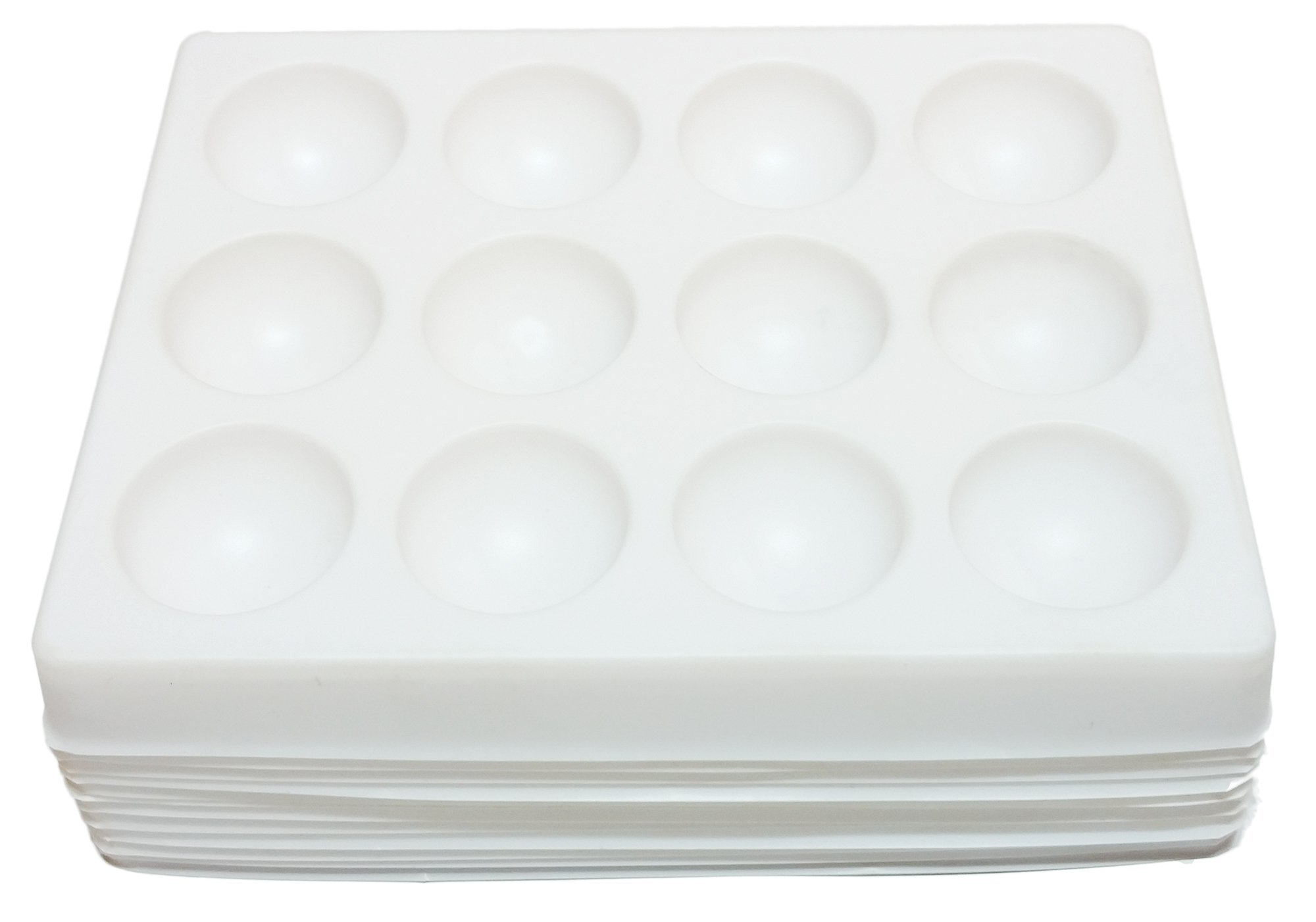 GSC International Polystyrene Spot Plates - Case of 120 by GSC International
