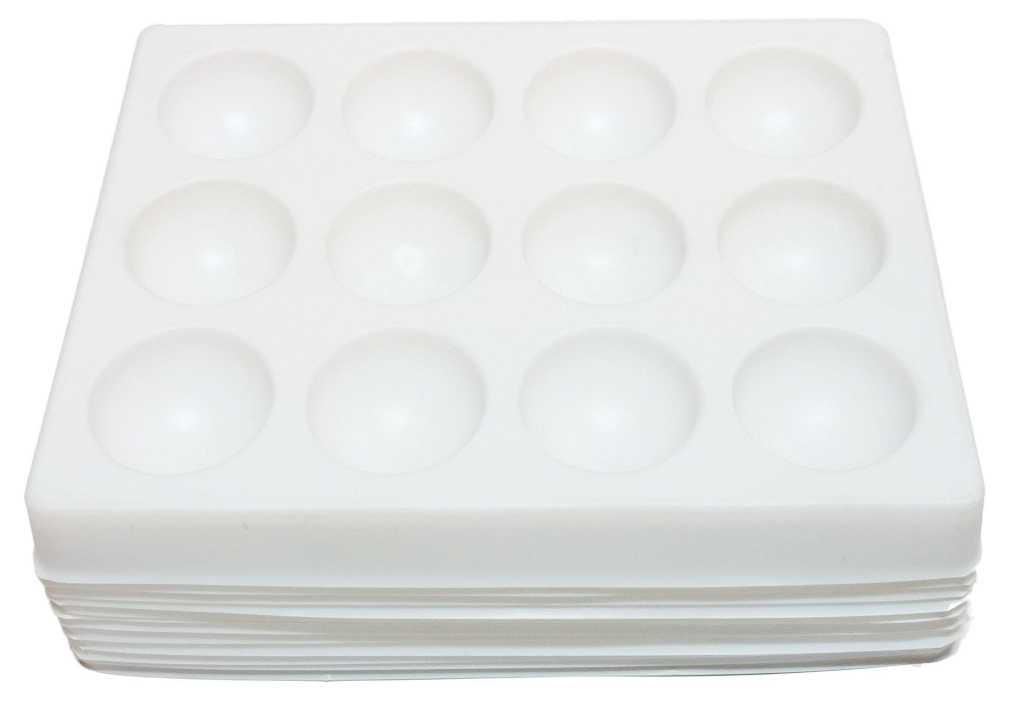 GSC International Polystyrene Spot Plates - Case of 120