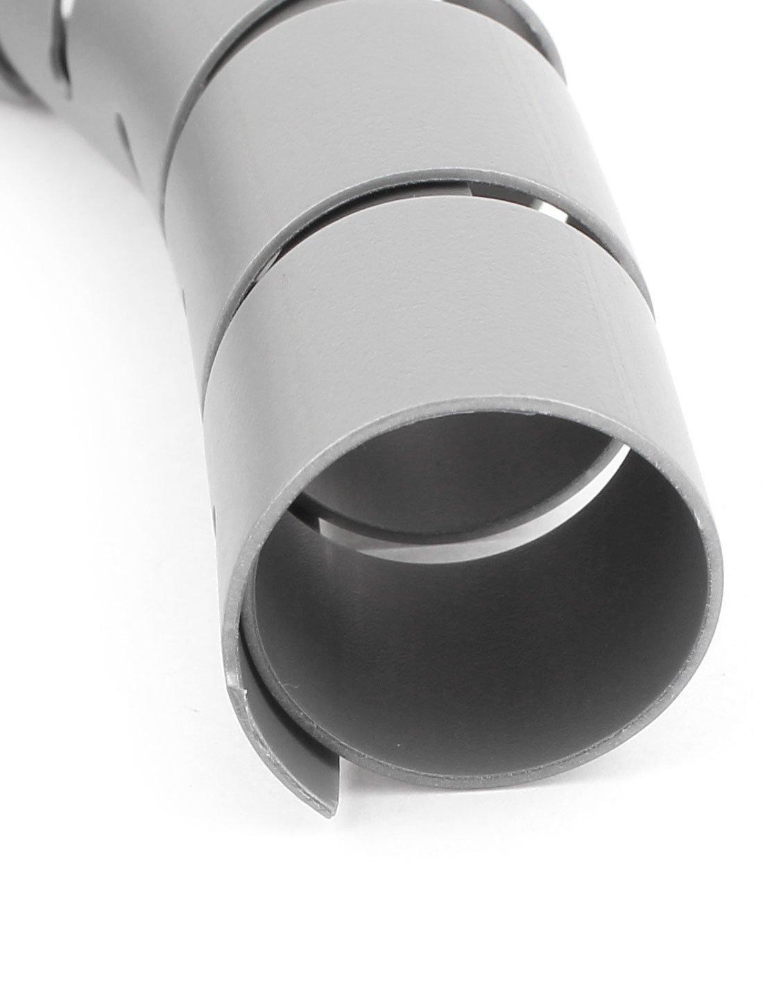 Tube Spiral Cable Wire Wrap Organizer Gestion des c/âbles 40mmx2m gris