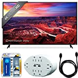 """Vizio E70-E3 SmartCast 70"""" Ultra HD Home Theater Display TV w/ Accessory Bundle includes TV, 6 Outlet Wall Tap w/ 2 USB Ports, Screen Cleaning Kit and HDMI to HDMI Cable 6'"""