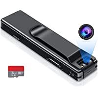 Câmera sem WiFi necessária – Mini gravador de vídeo para câmera corporal – câmera ativada – câmera pequena para babá…