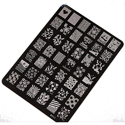 Stamping Printing Plate Manicure Nail Art Decor 14.5x10.5cm - 4