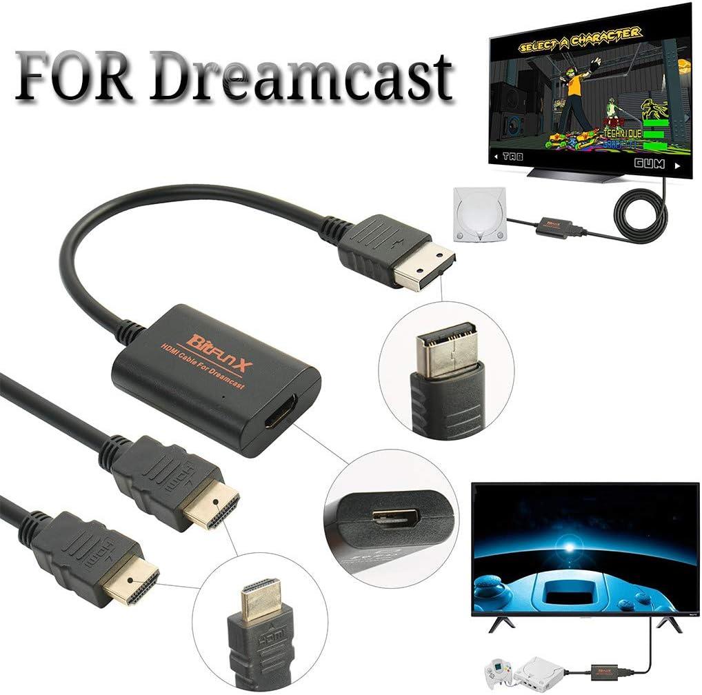 Factorys 2019 Nuevo Adaptador HDMI clásico avanzado Controlador Principal Cable HDMI/HD-Link para máquina de Juegos Sega Dreamcast