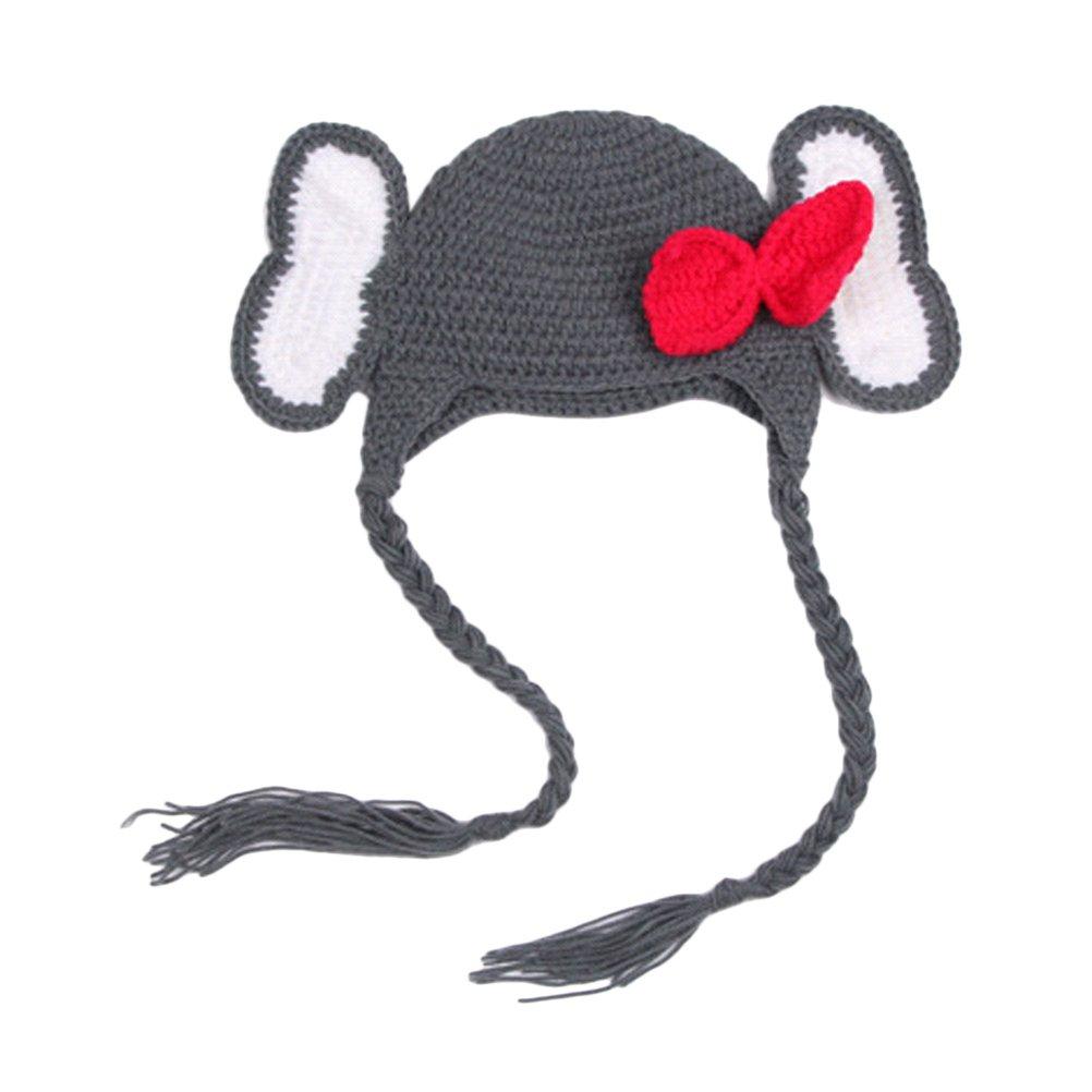 Zhhlinyuan Newborn Baby Photography Photo Props Beanie Hat Crochet Costume X-024