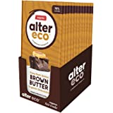 Alter Eco | Dark Salted Brown Butter | 70% Pure Dark Cocoa, Fair Trade, Organic, Non-GMO, Gluten-Free Dark Chocolate Bar with