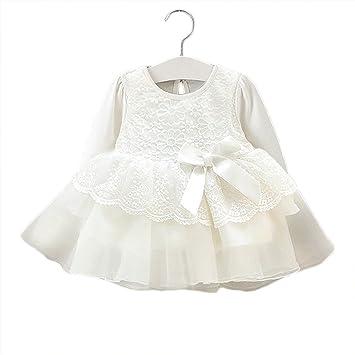 99c0c4d190291 BIANHUAN ベビードレス セレモニードレス フォーマル 女の子 新生児 ベビー服 ワンピース 赤ちゃん ドレス 60cm 退院着 出産