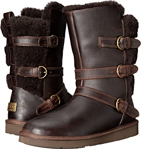hocolate Leather Boot ()