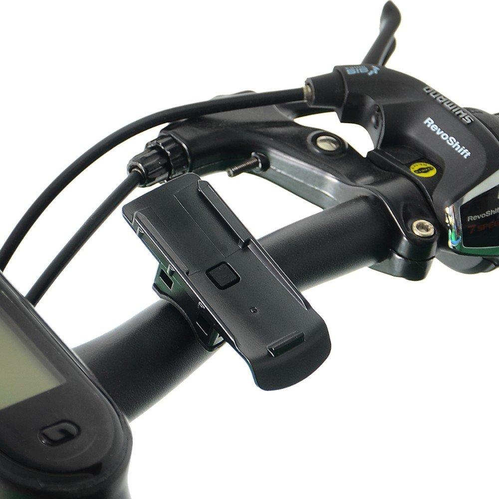 1stStop4All - Bicycle/Motor Bike Handlebar GPS Mount Holder for Garmin Astro; Approach; Atemos; Colorado; Dakota; eTrex; GPSMAP; inReach; Oregon; Rino.
