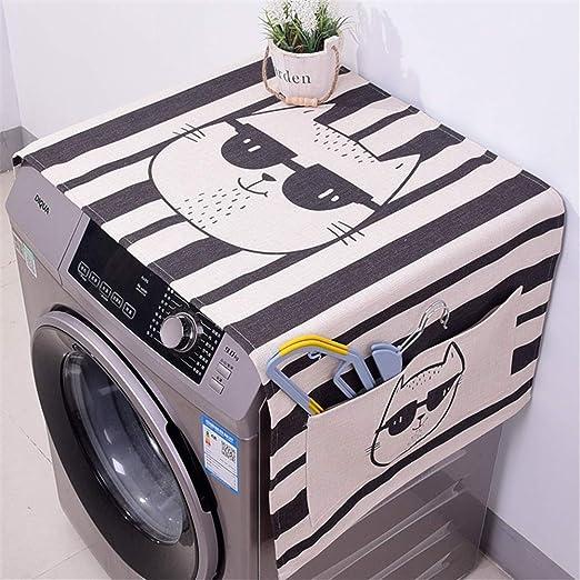 Lavadora cubierta Tambor de algodón y lino Lavadora Cubierta de ...