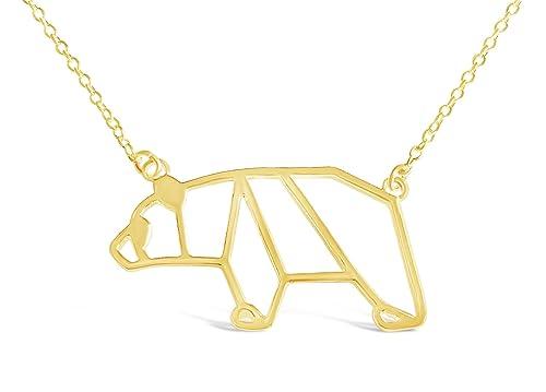Amazon Rosa Vila Bear Necklace Origami Mama Bear Necklace