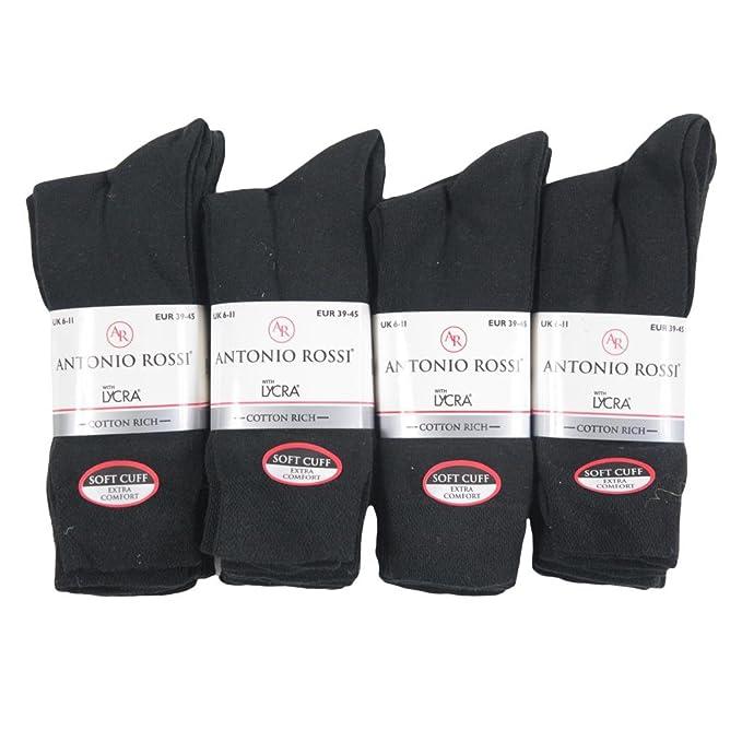 IMTD 24 pares para hombre Everyday Lycra de algodón - Plain ...