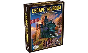 Think Fun Escape the Room Stargazer's Manor - An Escape Room Experience in a Box For Age 10 and Up