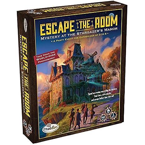 Amazon.com: Think Fun Escape the Room Stargazer\'s Manor - An Escape ...