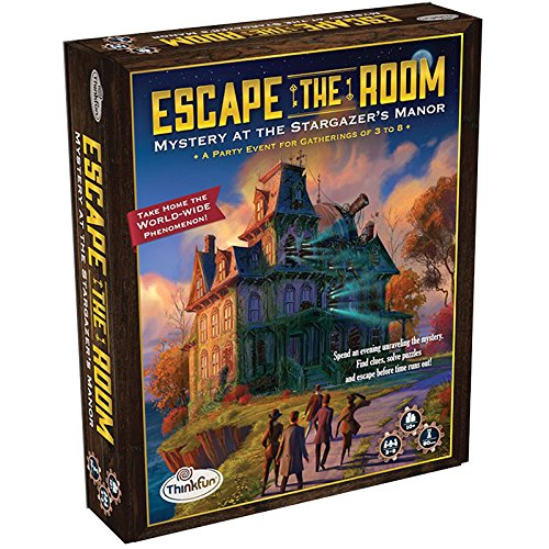 Manor Home Gifts - ThinkFun Escape the Room Stargazer's Manor - An Escape Room Experience in a Box For Age 10 and Up