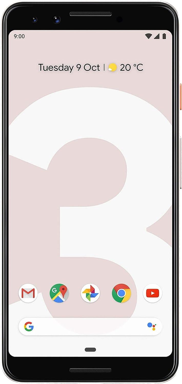 Pixel Phone 3-64GB - US Warranty - Not Pink - (Renewed)