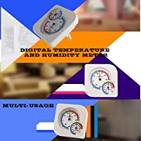 Classic Homeuse Indoor Outdoor 2 in 1 Mini Accurate Wet Hygrometer Humidity Thermometer Temperature Meter Mechanical