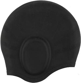 Gorro de natación, YOBOKO Premium Gorros de Silicona Impermeables ...