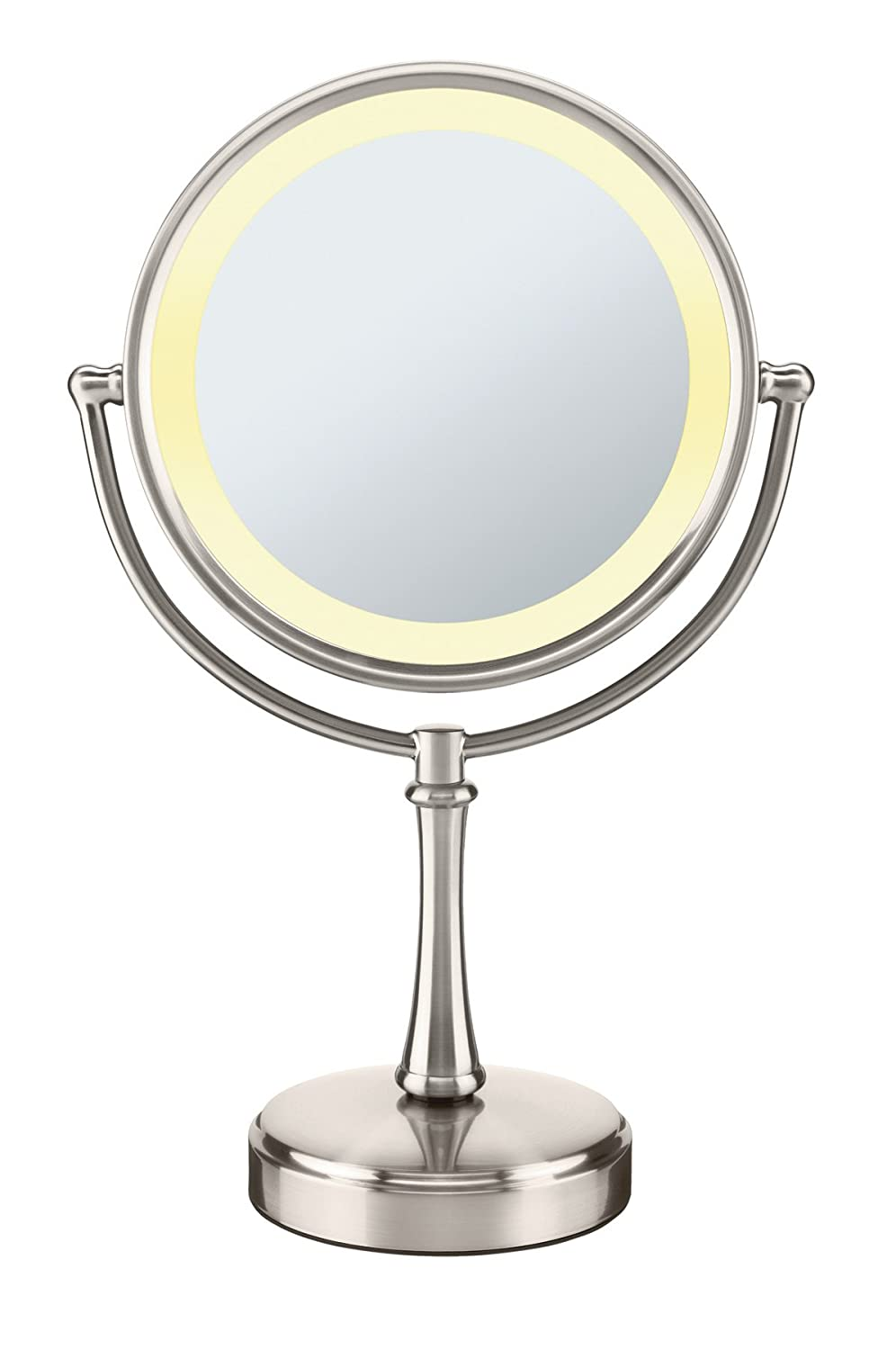 with mirrors acrylic article terresa lighting stand strategist makeup magnifying vanity best mirror lighted lights
