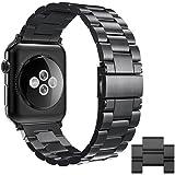 Simpeak Apple Watch Armband 42mm Edelstahl, Premium Band Straps für Apple Watch 42mm Series 1/2/3