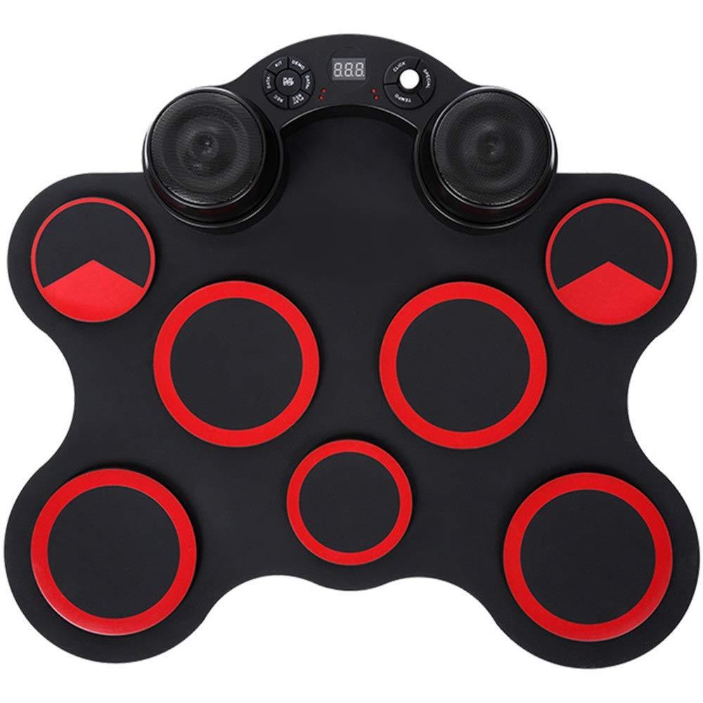 即日発送 ロールアップドラム 7シリコンパッド練習用電子ドラムセットサポートDTXゲームMIDIポータブルロールアップドラムキットヘッドフォンジャック内蔵ステレオスピーカーサスティンペダルドラムスティック録音再生機能ギフト子供のための (色 : : 赤, サイズ (色 : Free Free size) Free size 赤 B07Q7979G1, ぶんぶん文具屋さん:44eb2c81 --- a0267596.xsph.ru