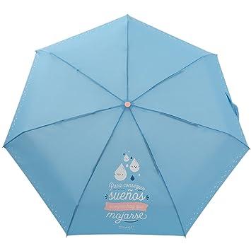 Paraguas Pequeño Mr. Wonderful: Para conseguir sueños siempre hay que mojarse