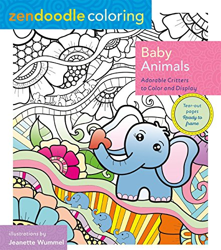 Top 10 best zendoodle coloring books baby animals for 2020