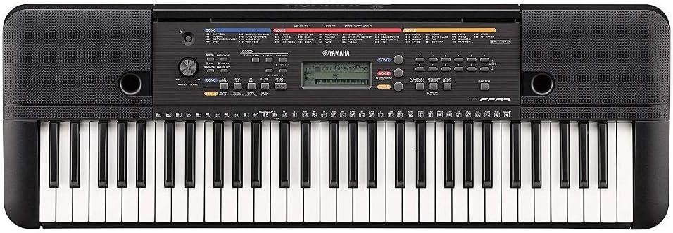 Yamaha PSR-E273 - Teclado digital ligero y compacto de 61 ...
