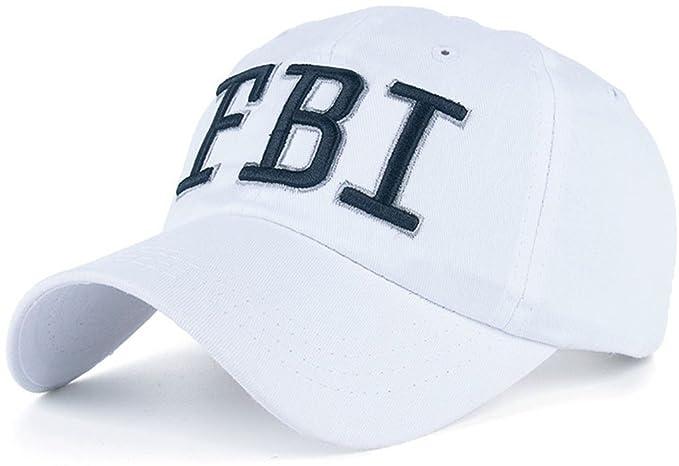 Amazon.com  FBI Hat Women Baseball Hats Gorras Trucker Cap ... 1d15af42607