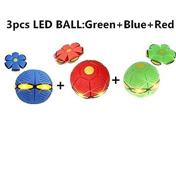 2/3/4pcufo Magic Ball Bola de platillo volador (luz LED) mágica ...