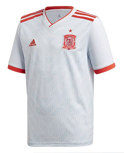 Amazon.com   adidas Spain Youth 2018-2019 Away Jersey   Sports ... d6ea86efb