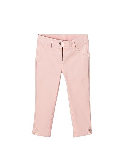 VERTBAUDET Conjunto de blusa y pantalón pesquero para niña BLANCO CLARO  ESTAMPADO 12A 412695984657
