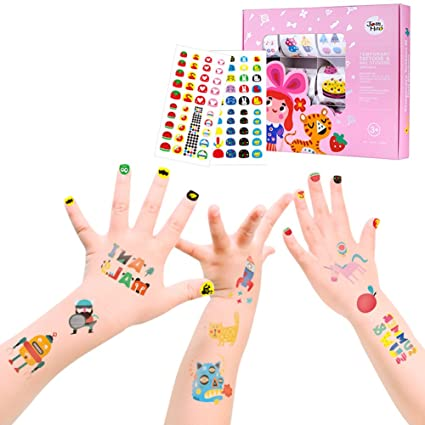 Amazon Halova Childrens Nail Stickers Babys Nail Decals