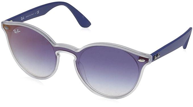 d80e3fa9e2bf8 Óculos de Sol Ray Ban Blaze Round RB4380N 6356 X0-37  Amazon.com.br ...