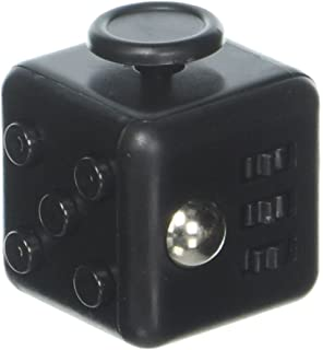 Maxboost Fidget Cube 6 Sides Stress Releaser Ball 2 Pack Black Anti