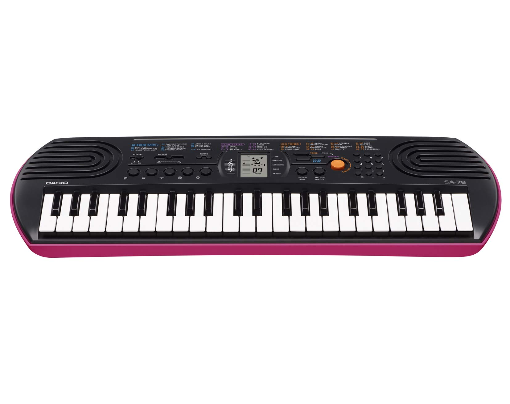 Casio SA-78 44-Key Mini Personal Keyboard by Casio (Image #2)