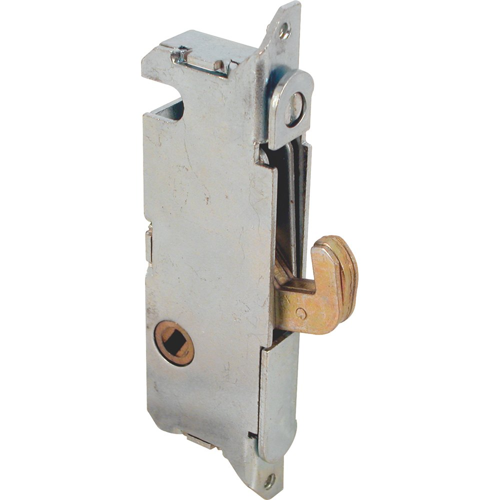 Slide-Co 15410-F Mortise Lock - Adjustable Spring-Loaded Hook Latch Projection for Sliding Patio Doors Constructed of Wood Aluminum and Vinyl 3-11/16\  ...  sc 1 st  Amazon.com : sliding doors locks - pezcame.com