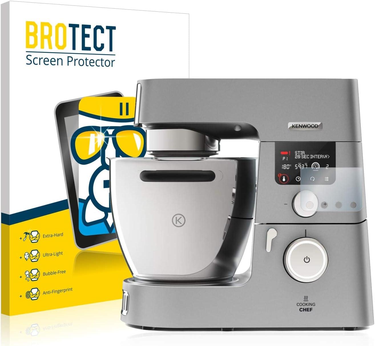 BROTECT Protector Pantalla Cristal Compatible con Kenwood Cooking ...