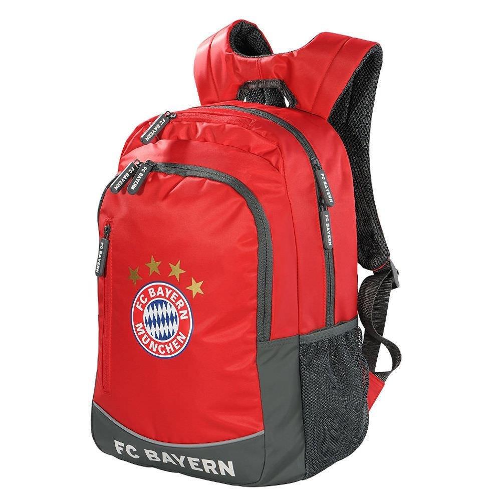 FC Bayern –  Mochila Rojo/Blanco/Gris FC Bayern München