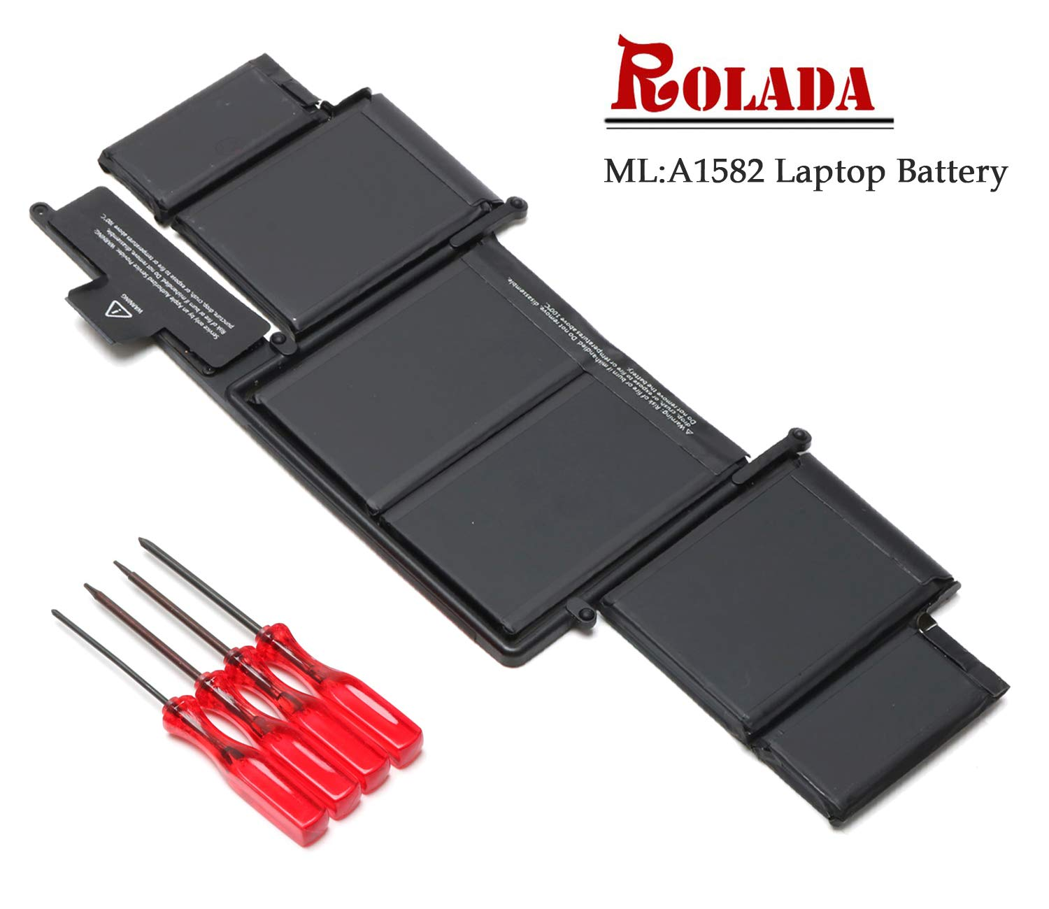 A1582 New Laptop Battery Replacement for 2015 MacBook Pro 13'' Retina A1502, ME864 ME865 MF839 MF840 MF841;MacBook A1493(Late 2013, Mid 2014 Version)