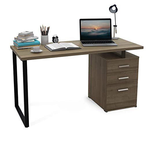 DEVAISE Escritorio de Ordenador de Oficina en casa, Mesa de ...