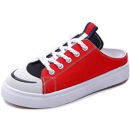 Zapatos De Lona Vacíos Traseros, Zapatos Individuales De Verano ...